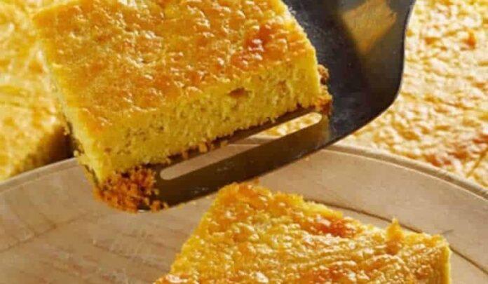 Gâteau aux mais avec thermomix