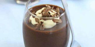 Mousse au chocolat sans oeuf avec thermomix