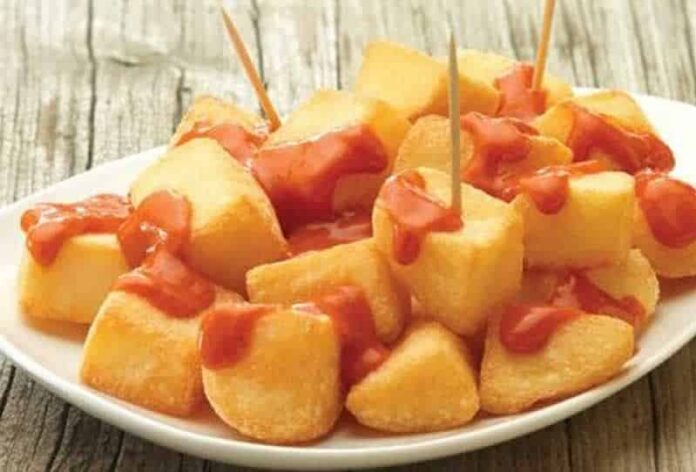 Patatas Bravas facile au thermomix
