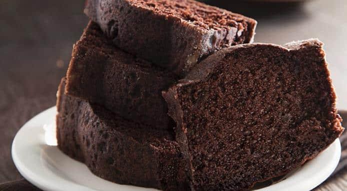Gâteau au chocolat sans sucre