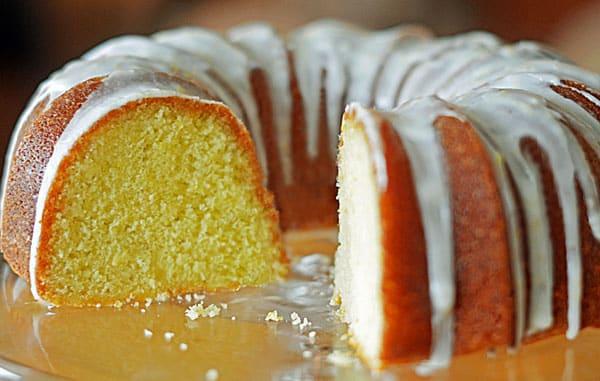 Gâteau citron vert et amande