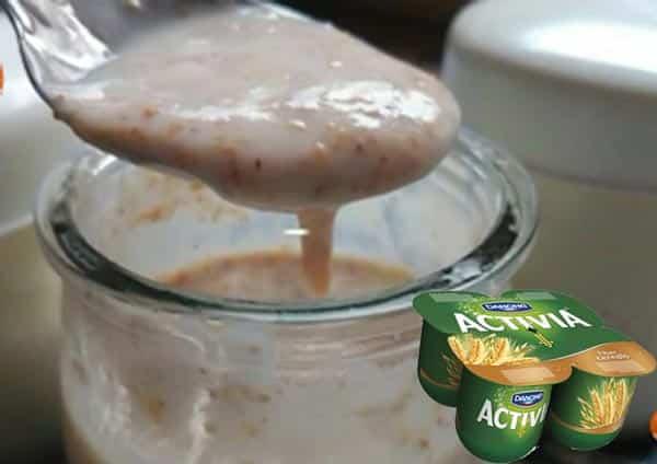 Yaourts Activia céréales fait maison avec Thermomix