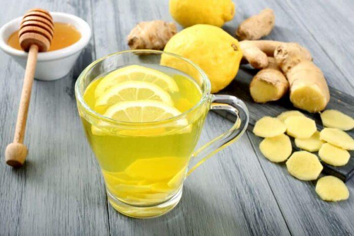boisson au gingembre minceur avec Thermomix