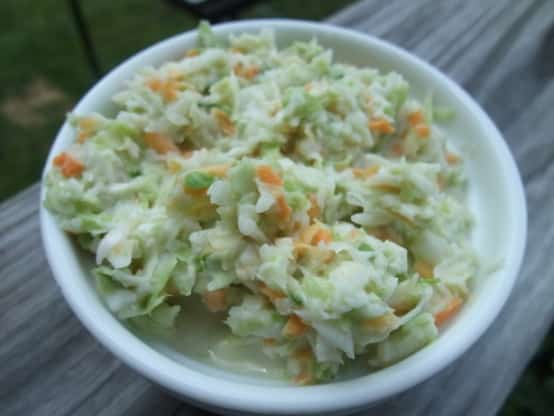 Salade Coleslaw Weight watchers