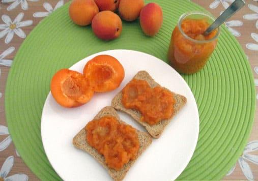 Confiture d'abricot Weight watchers