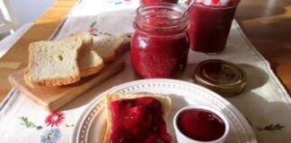 Confiture de Fraise 0 point Weight watchers