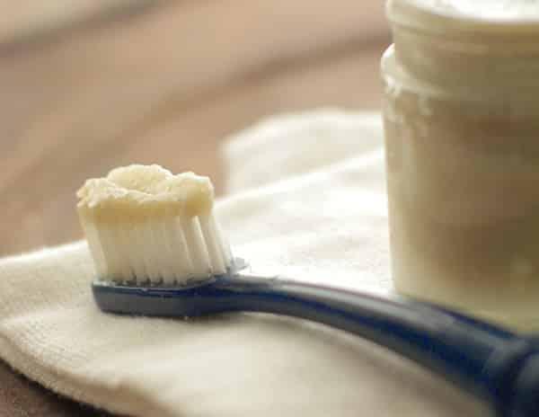 Dentifrice fait maison avec Thermomix