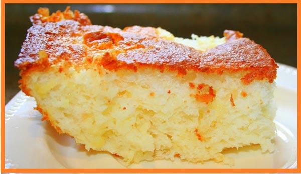 Gâteau au citron léger