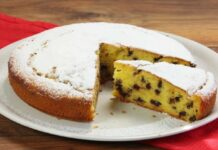 Gâteau léger aux pépites de chocolat Weight watchers