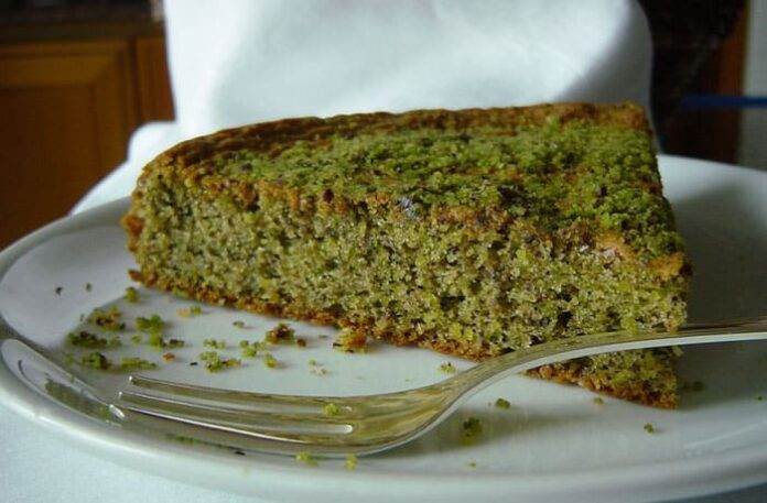 Gâteau aux pistaches avec Thermomix