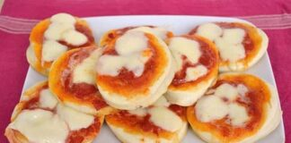 Mini-pizza Express avec Thermomix