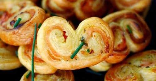 Palmiers au saumon et fromage au Thermomix