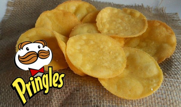 Chips Pringles fait maison avec Thermomix