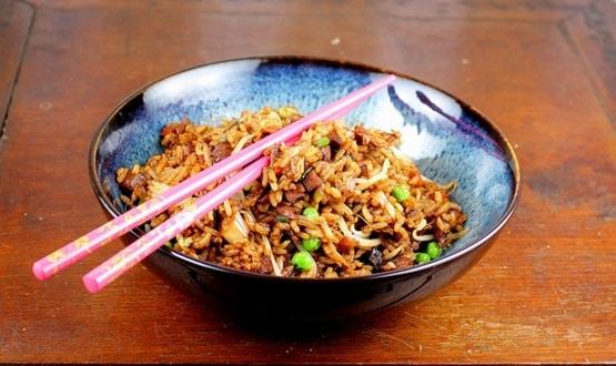 riz façon asiatique Weight watchers