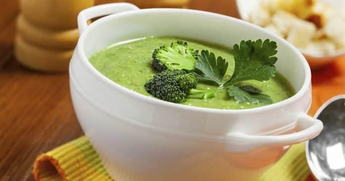 soupe brocolis