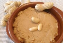 beurre d'arachide maison avec thermomix
