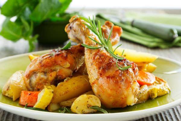 Cuisses de poulet au gingembre avec Thermomix