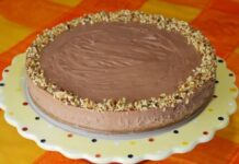 Cheesecake Nutella Express et sans cuisson avec Thermomix