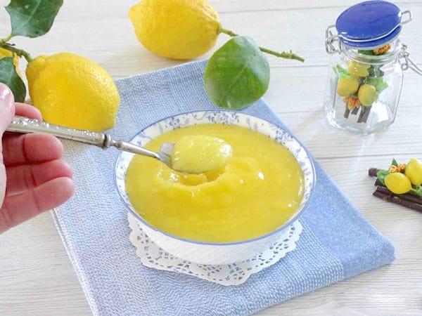 Crème de citron ou Lemon curd avec Thermomix