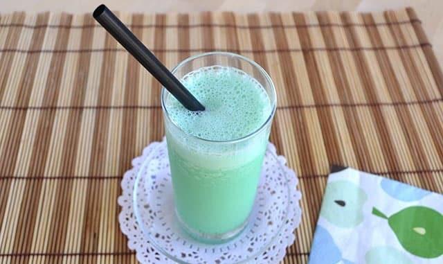 Milk-Shake à la menthe avec Thermomix