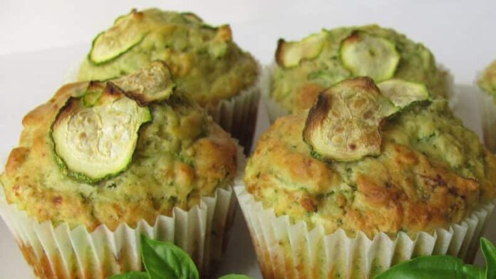 Muffins aux courgettes avec Thermomix