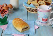 Petits pains au lait fourrés au chocolat