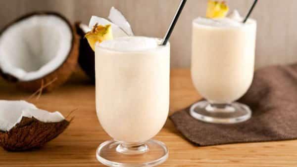 smoothie à la noix de coco