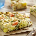 Tortilla aux légumes spéciale régime