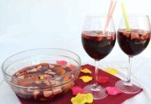 Cocktail Sangria maison avec Thermomix