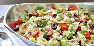 Salade de pâtes à la fêta Weight Watchers
