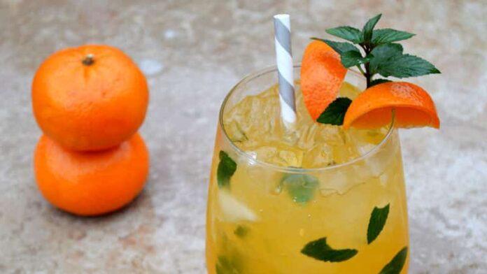 Cocktail à la mandarine