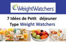 7 Idées de Petit déjeuner Type Weight Watchers