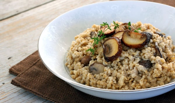 Risotto aux champignons Weight Watchers