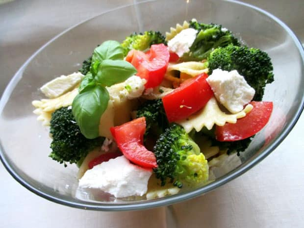 Salade de pâte au brocoli Weight watchers