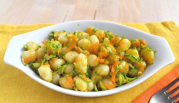 Gnocchi aux Légumes et Parmesan