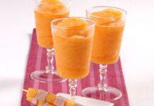 Sorbet au melon et Vodka