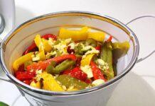 Salade de poivron légère
