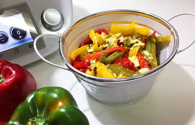 Salade de poivrons avec Thermomix