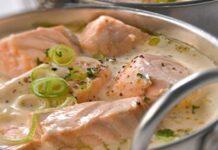 blanquette de saumon légère