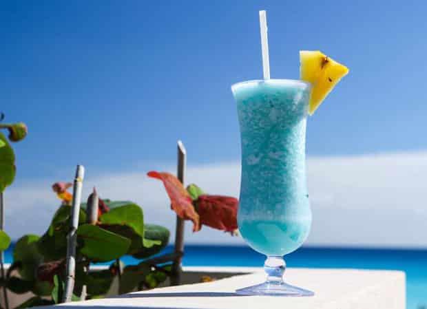 cocktail Blue Hawaiian avec thermomix
