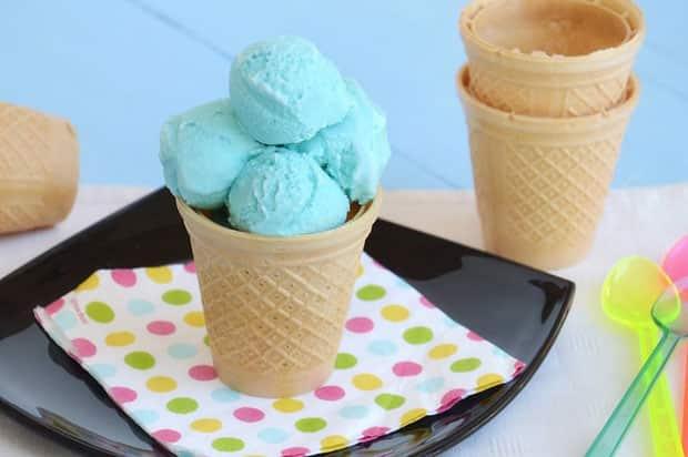 Crème Glacée Schtroumpf