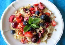 Salade de Fruits au Quinoa Weight Watchers