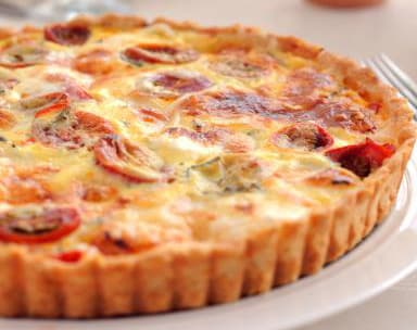 Tarte à la tomate et au thon Weight Watchers