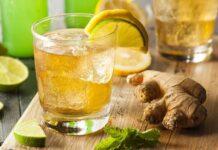 Jus de gingembre au citron vert avec Thermomix