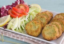 Croquettes aux Courgettes et Feta Weight watchers