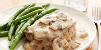 Filet mignon de porc à la sauce de champignons Weight Watchers