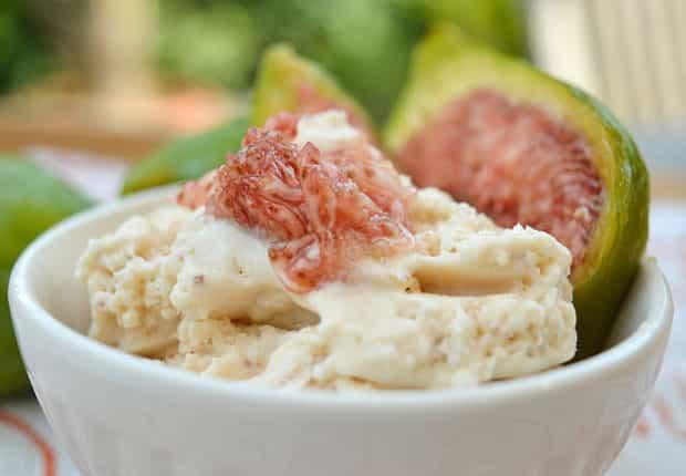 Crème glacée aux figues avec Thermomix