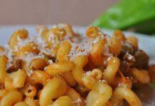 Pâtes italiennes aux poivrons avec Thermomix