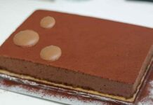 Gâteau Royal Trianon avec Thermomix