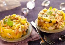 Tartare de Crevettes et Mangue Weight Watchers